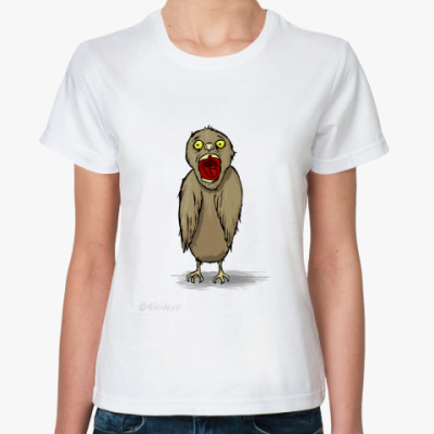 Классическая футболка воробушек