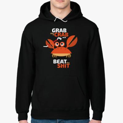 Толстовка худи Grab like a crab