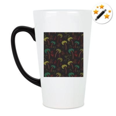 Кружка-хамелеон Пальмы