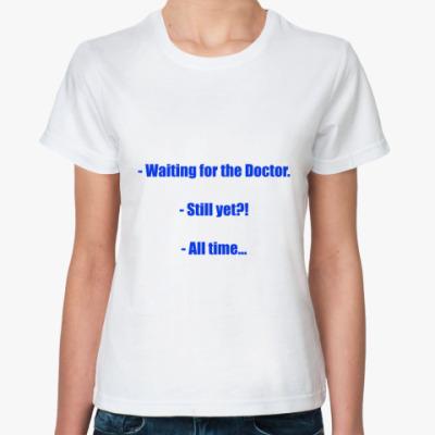Классическая футболка Doctor Who