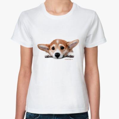 Классическая футболка Корги