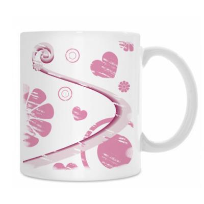 Розовая абстракция