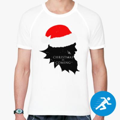 Спортивная футболка Christmas is coming
