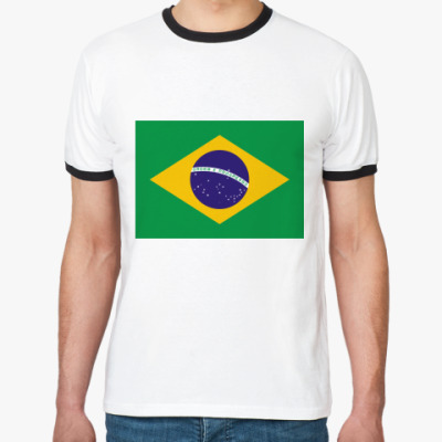 Футболка Ringer-T  Бразилия