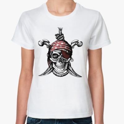 Классическая футболка Весёлый Роджер