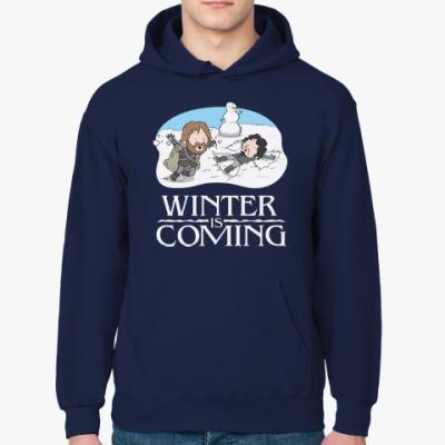 Толстовка худи Зима близко