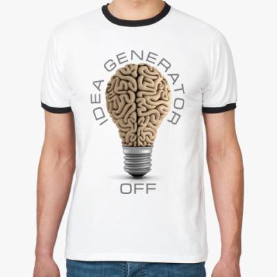 Футболка Ringer-T Idea generator (off)