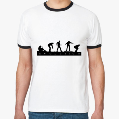 Футболка Ringer-T Evolution