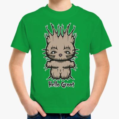 Детская футболка Привет Грут