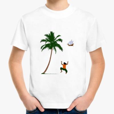 Детская футболка Остров