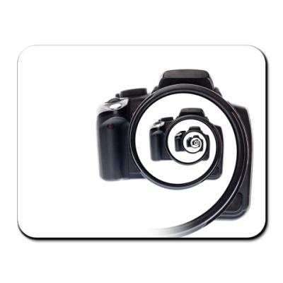 Коврик для мыши Бесконечный фотоаппарат