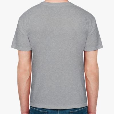 Мужская футболка Hanes (темный меланж)