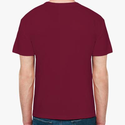 Мужская футболка Stedman, бордо