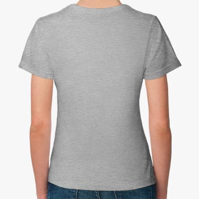 "Женская футболка ""IceBrain"""