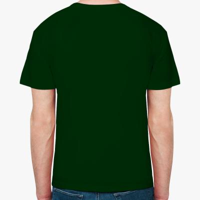 Мужская футболка Stedman, темно-зеленая