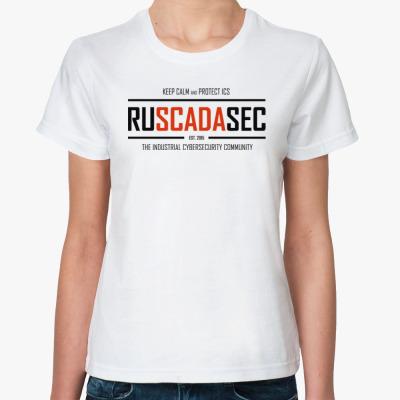 Классическая футболка Женская футболка RUSCADASEC, v.2