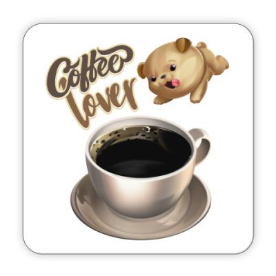 Костер (подставка под кружку) Любителям кофе - Coffee Lover