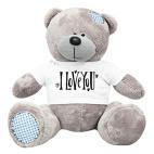 Плюшевый мишка Тедди I love You!