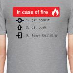 In Case of Fire GIT commit