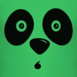 Удивлённая панда