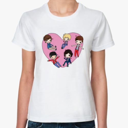 Классическая футболка One Direction