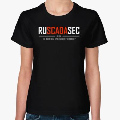 Женская футболка Женская футболка RUSCADASEC, v.1