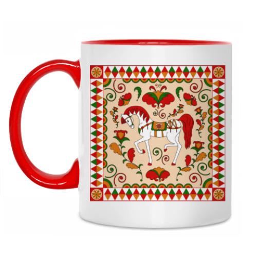 Кружка Русский орнамент / Russian folk ornament